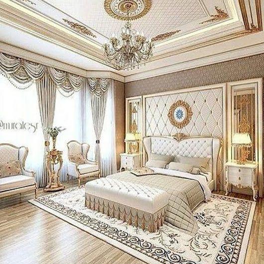 Schlafzimmer Ideen, Coole Häuser, Wohnungseinrichtung, Klassik,  Wandgestaltung, Regal, Architektur, Deko, Luxusschlafzimmer