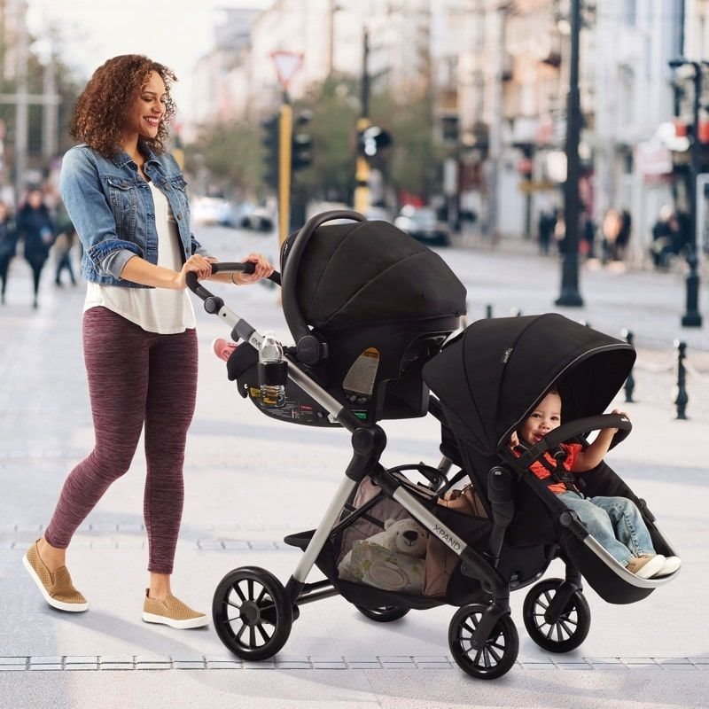 Evenflo Pivot Xpand Travel System double Baby car