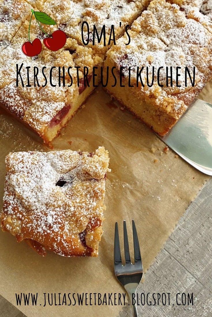 Photo of Oma's Kirschstreuselkuchen