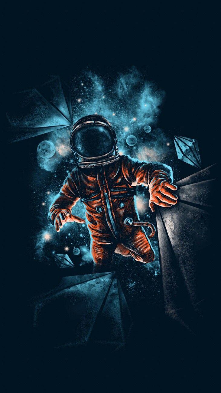 Fondos De Pantalla Astronauta Chidas En Hd Para Celular Imagenes De Astronautas Astronauta Fondo De Pantalla De Humo