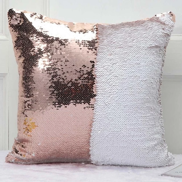 Customized Sequin Pillow Cover Gifts