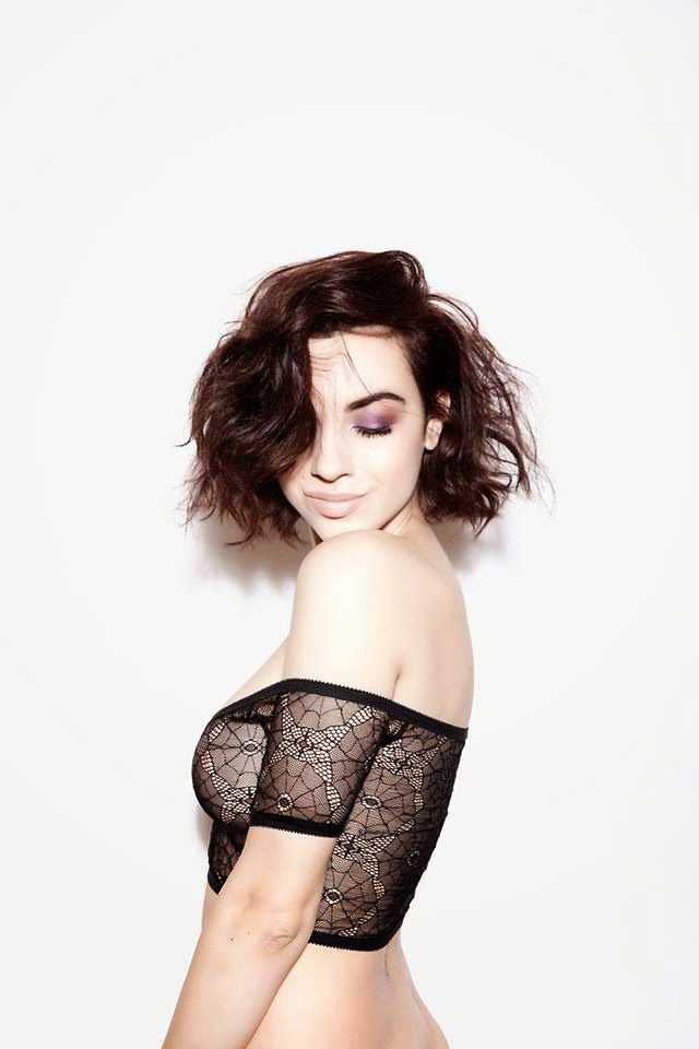 Seriously Ruined: Hopeless Lingerie | 'Raven' Top & 'Darla' Knickers in Spiderweb Lace