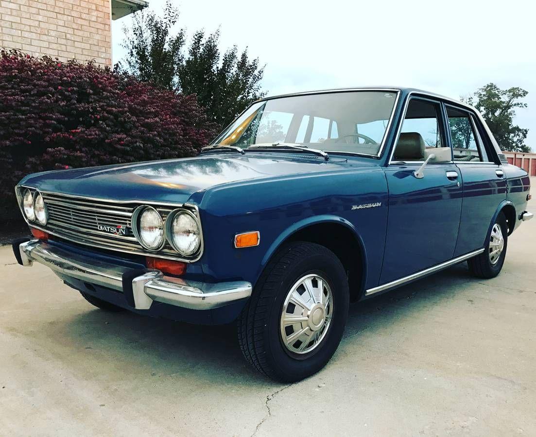 1971 4 Door Automatic Bowling Green Tn Datsun 1600 Datsun 510 Datsun