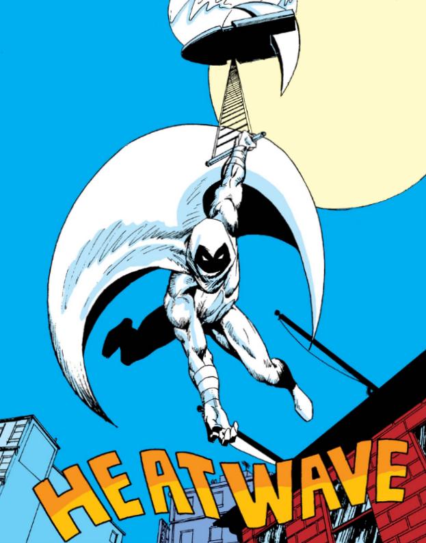 Moon Knight In Power Man And Iron Fist 1978 87 Moon Knight Knight Art Marvel Comic Universe