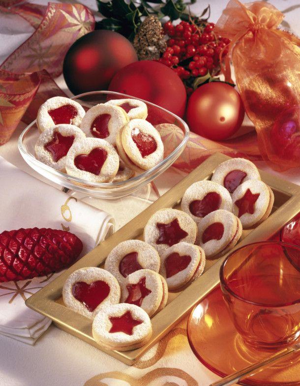 Linzer Weihnachtsplätzchen.Gefüllte Linzer Plätzchen Rezept Desserts And Sweets Linzer