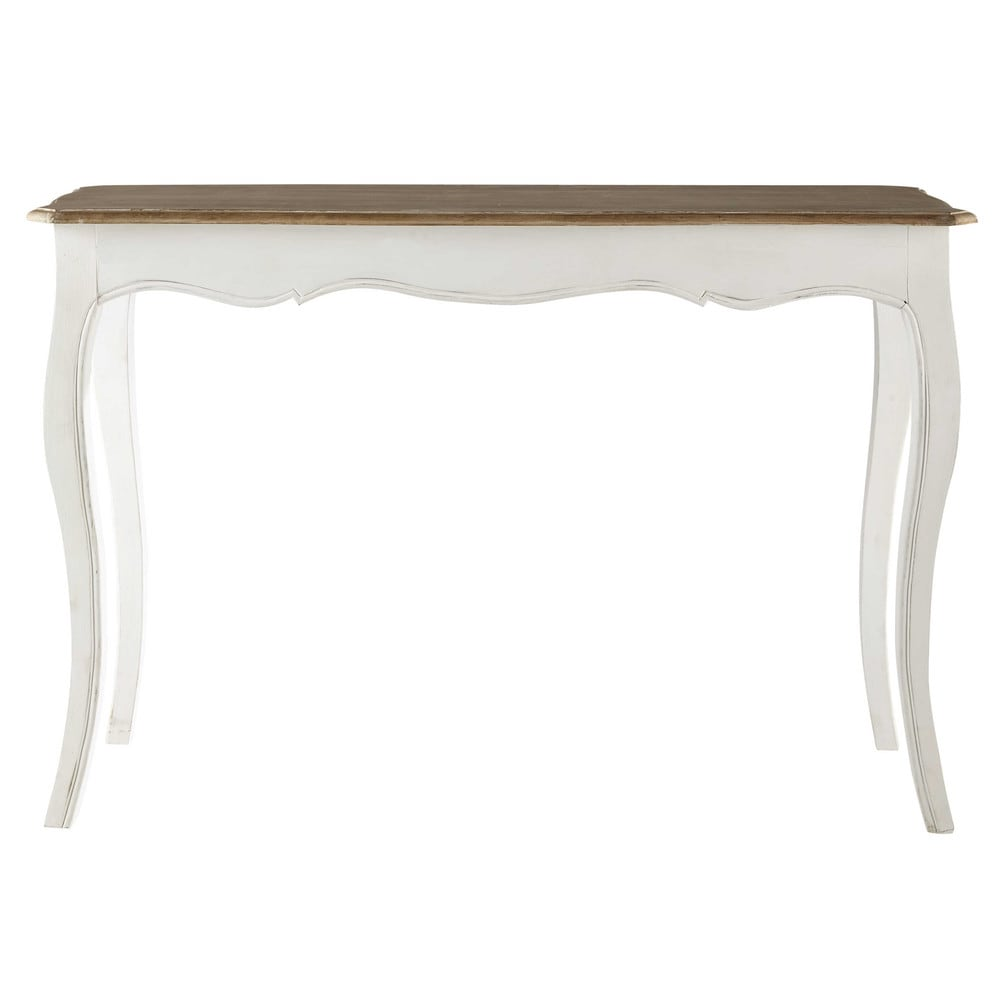 Table console en manguier massif blanc   Products   Pinterest ... 17a8b3700d35