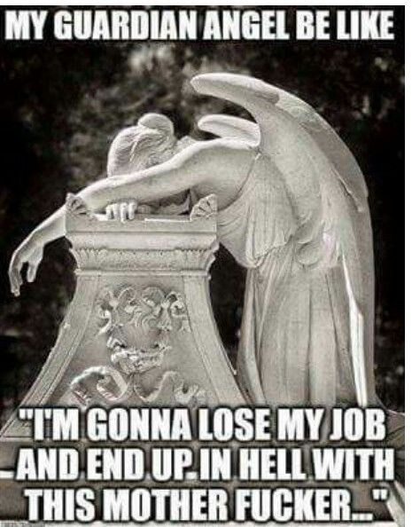 57b2d48d692f87373650ae33b5ee32f0 guardian angel fail no worries, i've got a bus for that! humor