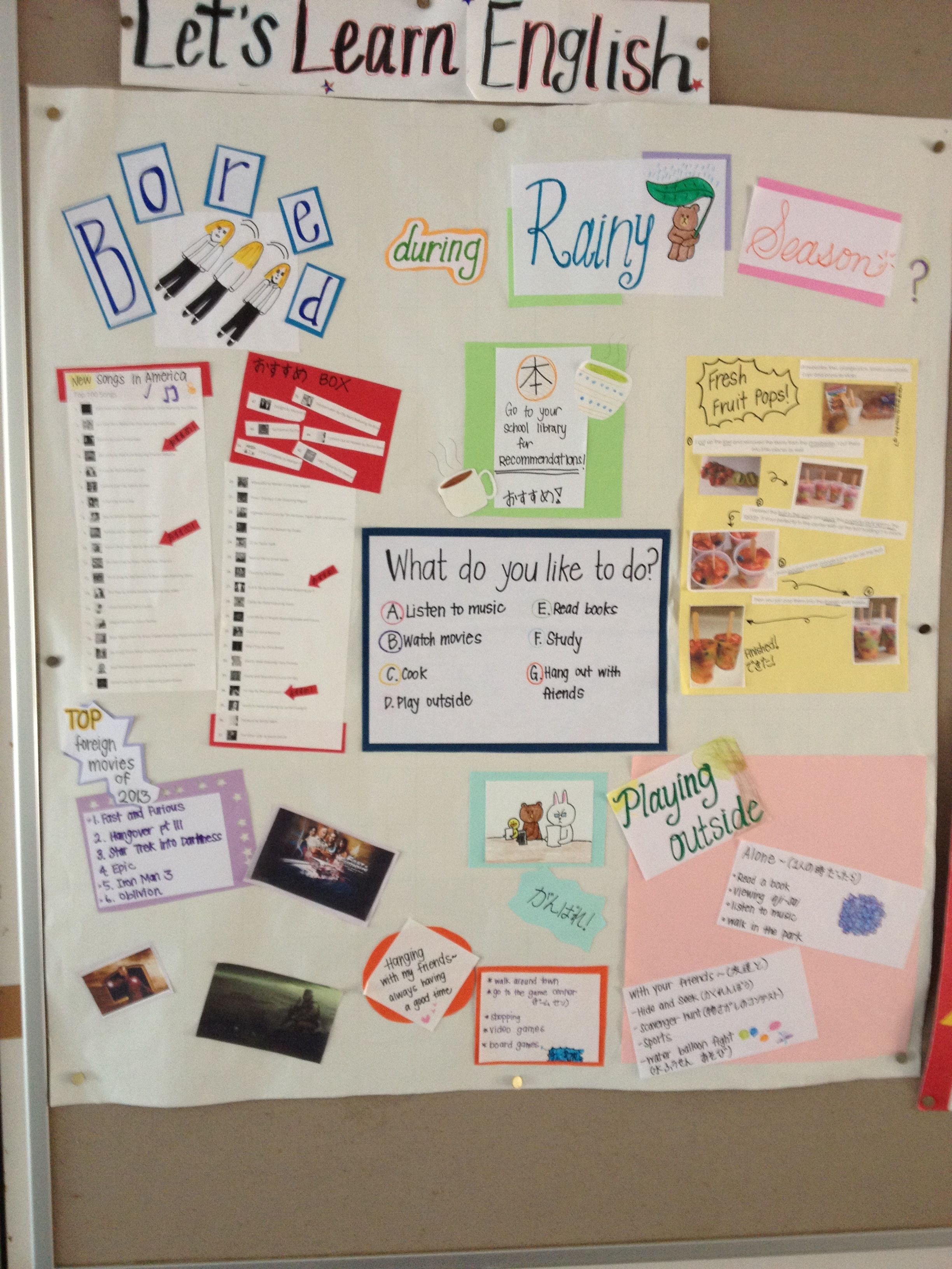 June English Board