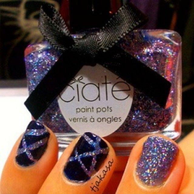 'Jewel' von Ciaté. Multi-Color-3D Glitter. #tjakasasnails #ciate #glitter #glitzer #nailart #nagellack #nailpolish #beauty #notd #naillacquer #cutenails