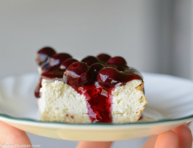 "Did you know that my mini cheesecake recipe can be doubled and baked in a 9x13"" pan for 35 minutes?  Delicious!  (THM:S, Low-carb, Sugar free, Gluten and Peanut free)"