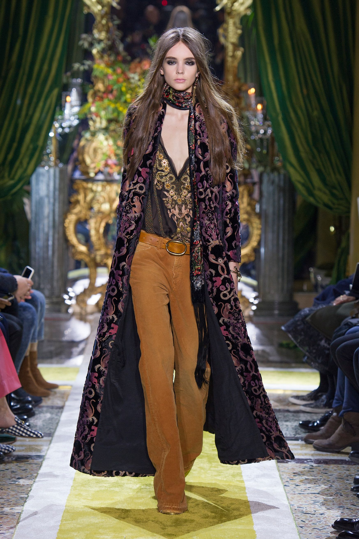 Roberto Cavalli Women S Fall Winter 2016 Fashion Boho