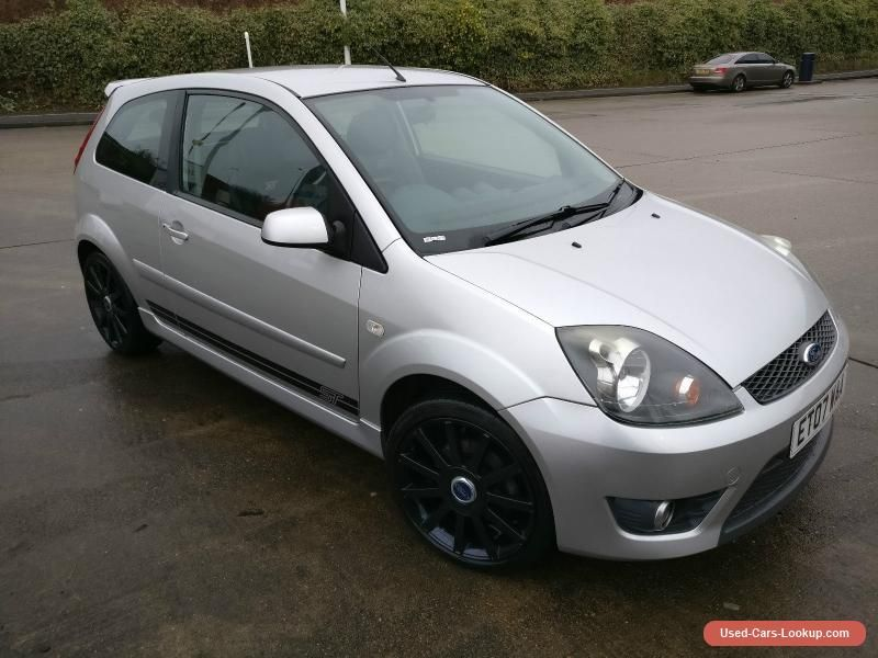 Car For Sale 2007 Ford Fiesta St 150 Silver Ford Fiesta Ford