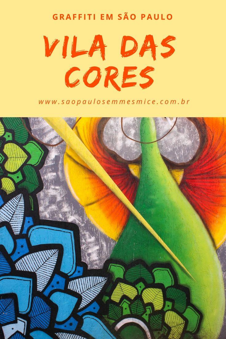 Vila Das Cores Graffiti Na Vila Mariana Com A Arteria Pontaponta
