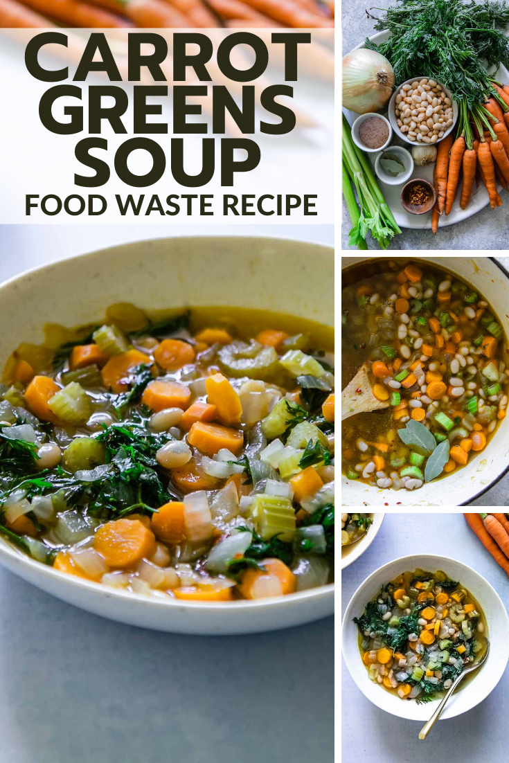 Carrot Greens Soup In 2020 Easy Vegetable Soup Green Soup Easy Soups