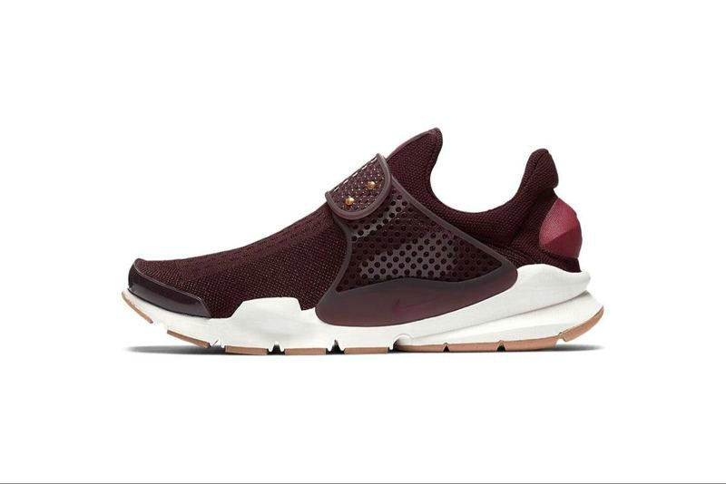 new style effbf b49dc Chaussures pas cher course Summer 2017 Nike Running Sock Dart Oreo Slip On  Tech Fleece Burgundy