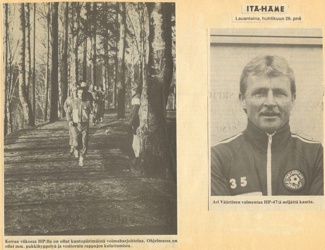1986 - Heinolan Palloilijat-47 ry
