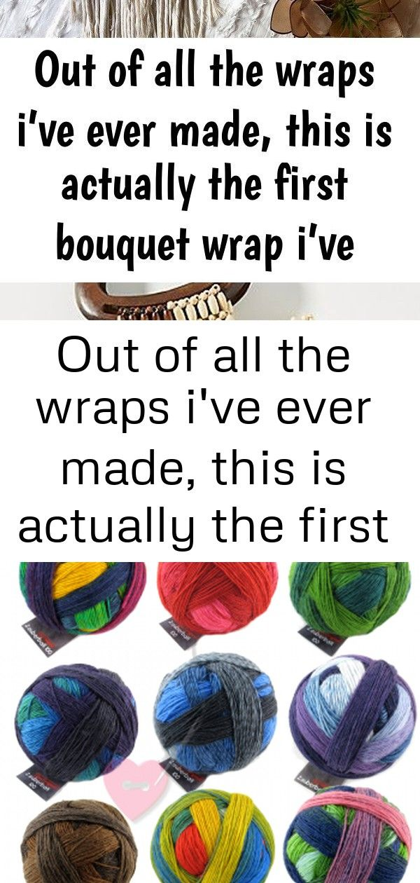 Out of all the wraps ive ever made this is actually the first bouquet wrap ive made believe it 1 Out of all the wraps Ive ever made this is actually the first bouquet wra...