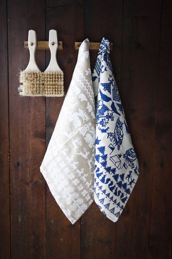Saana ja Olli | The best hemp textiles. Made in Finland. Yö metsässä