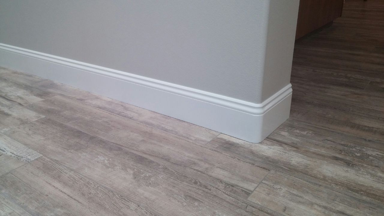 Wood baseboard in bathroom - Are You Looking To Replace Your Existing Baseboards Then You Might Want To Consider A
