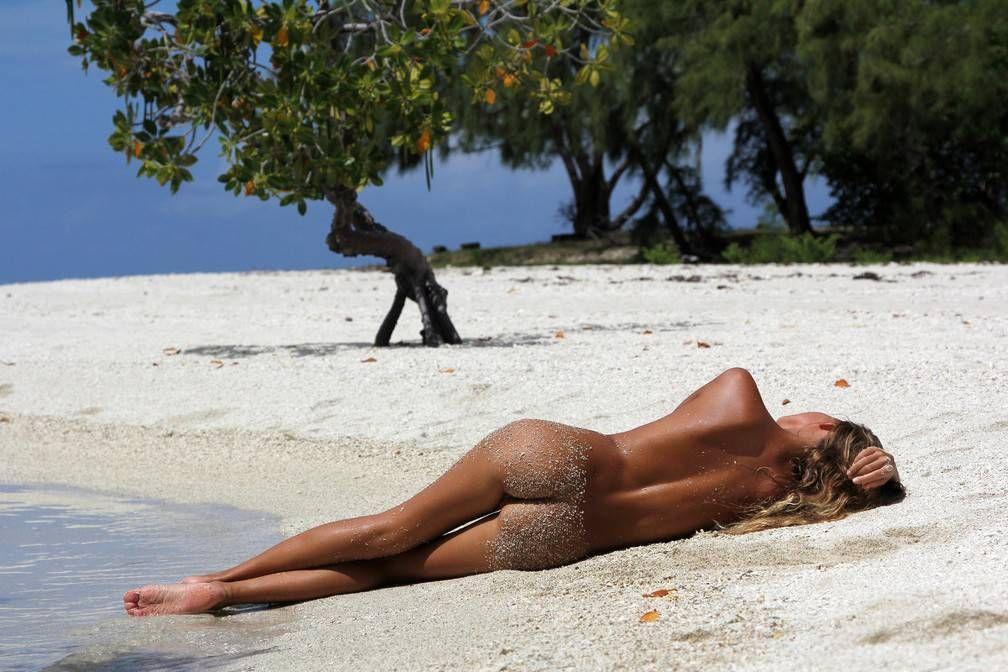 гламурные киски на пляже