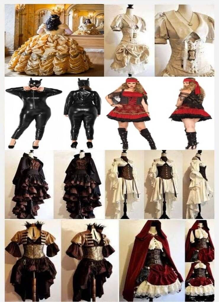Plus Size Costumes 2018 Plus size Halloween costume ideas included - halloween costume ideas plus size