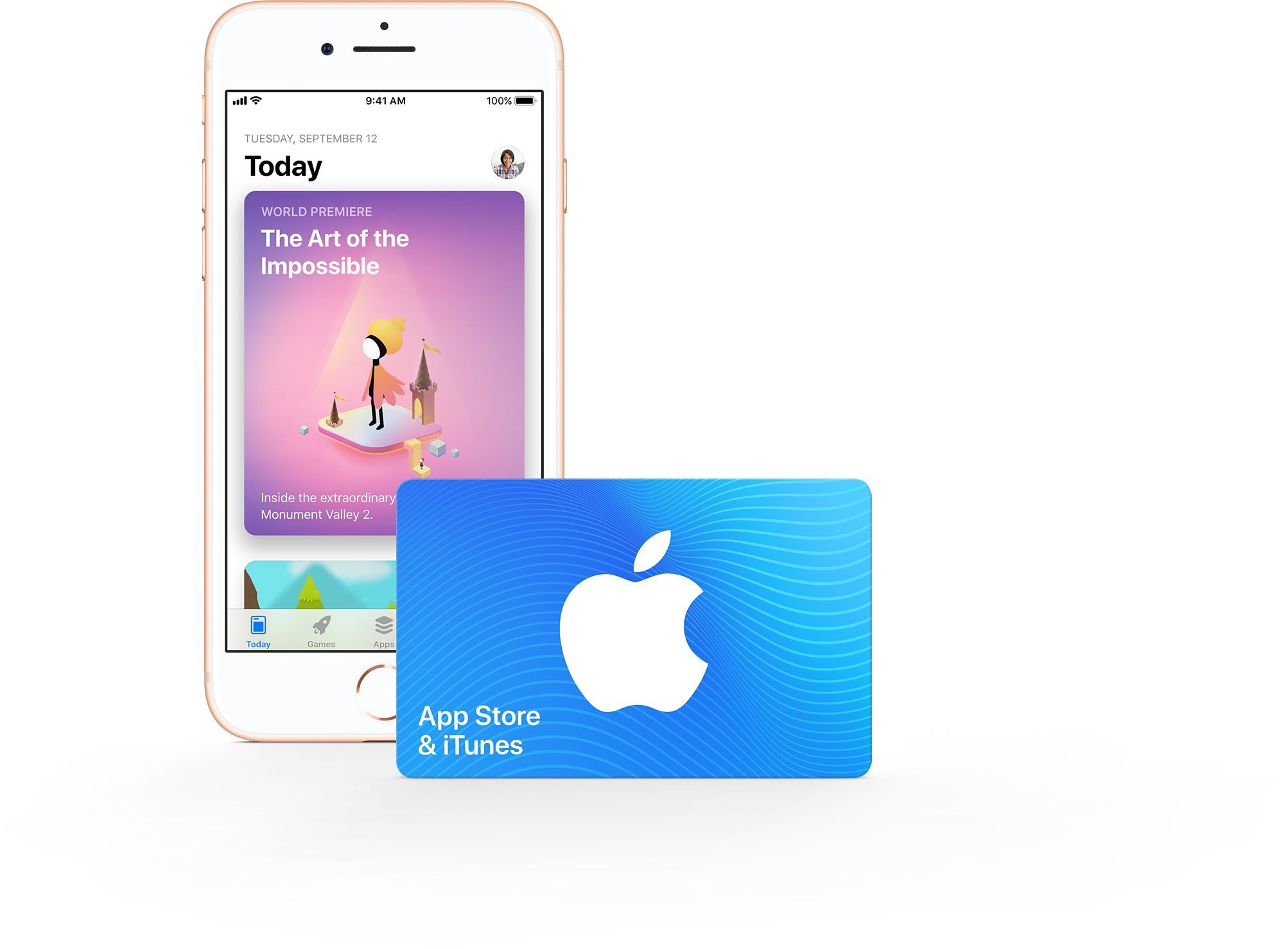 App Store & iTunes Gift Card Apple gift card, Apple