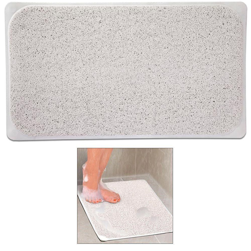 1 Shower Rug Non Slip Fast Drying Woven Bath Tub Mat 29 X 17 Adhesive Suction Bathtub Mat Shower Rugs Cheap Wall Stickers
