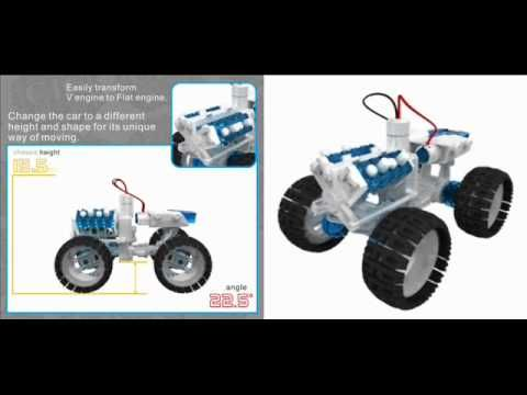Salt Water Fuel Cell Monster Truck Kit Oh By The Way Did We Mention That It Is Fueled By Salt Water Magnesium The Salt Water Fuel Cell Monst Changos Autos