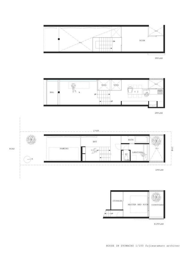 Impressive Tall and Narrow Home in Japan   Narrow house ... on small apartment building in japan, houses in tokyo japan, tall skinny building in japan, narrow house interior design, micro houses in japan,