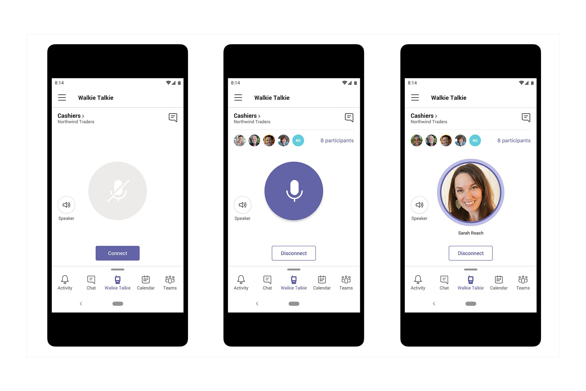 Microsoft Teams is getting a Walkie Talkie feature so you
