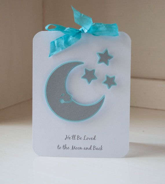 Baby Shower Invitations Moon And Stars Baby By