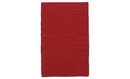 Hula - Scarlet - Tapis 5 pi x 7 pi