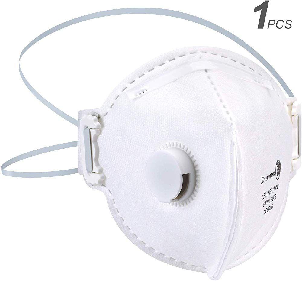 1 Stucke N95 Ffp3 Mund Staubschutzmaske Falten Schutzmaske Hangen