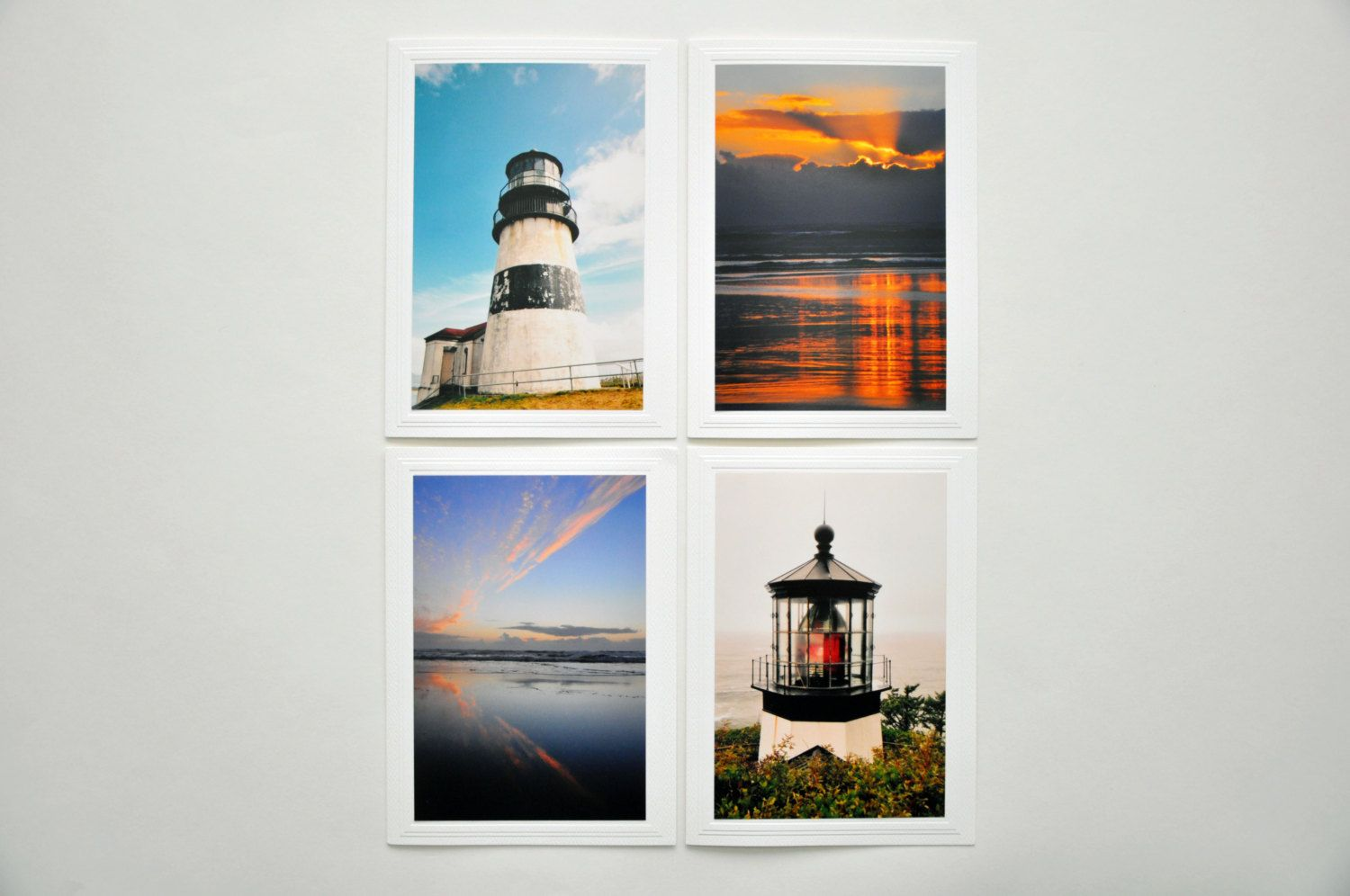 Pacific coast card set i cape disappointment lighthouse benson pacific coast card set i cape disappointment lighthouse benson beach cape meares lighthouse special occasion greeting cards made in usa kristyandbryce Choice Image