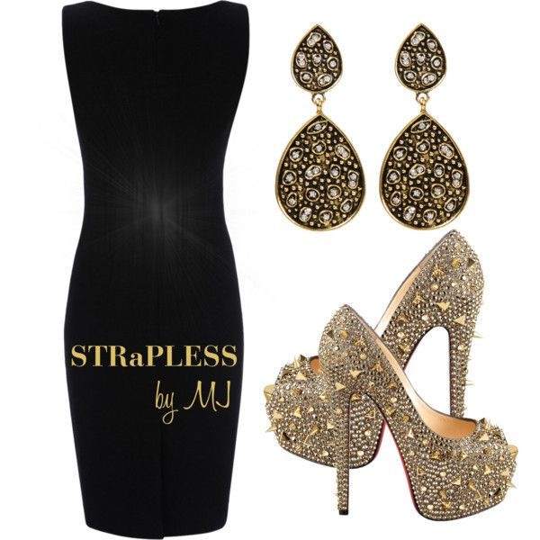 """""""Christian Loboutin Shoes"""" by strapless on Polyvore"""