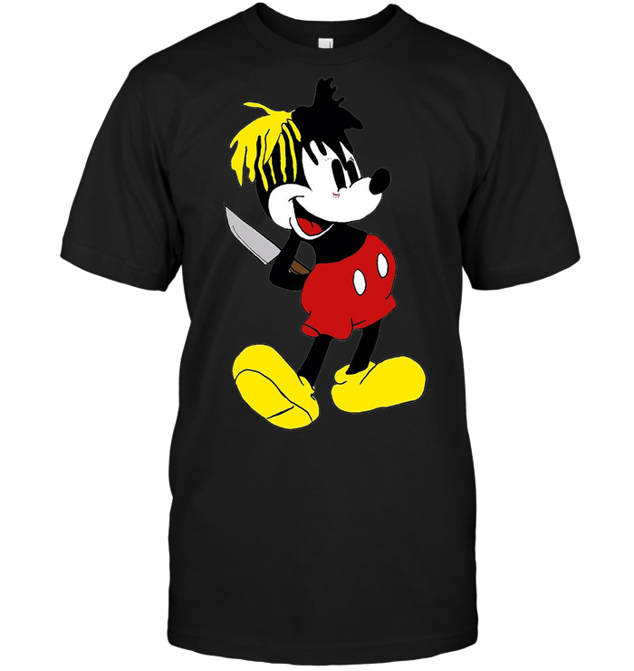 782e45047 XXXTentacion Mickey Mouse Shirt - Shipping Worldwide - NINONINE