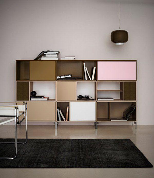 Minimalist Colorful Storage Furniture For Home And Office Minimalist Home Decor Interior Montana Furniture