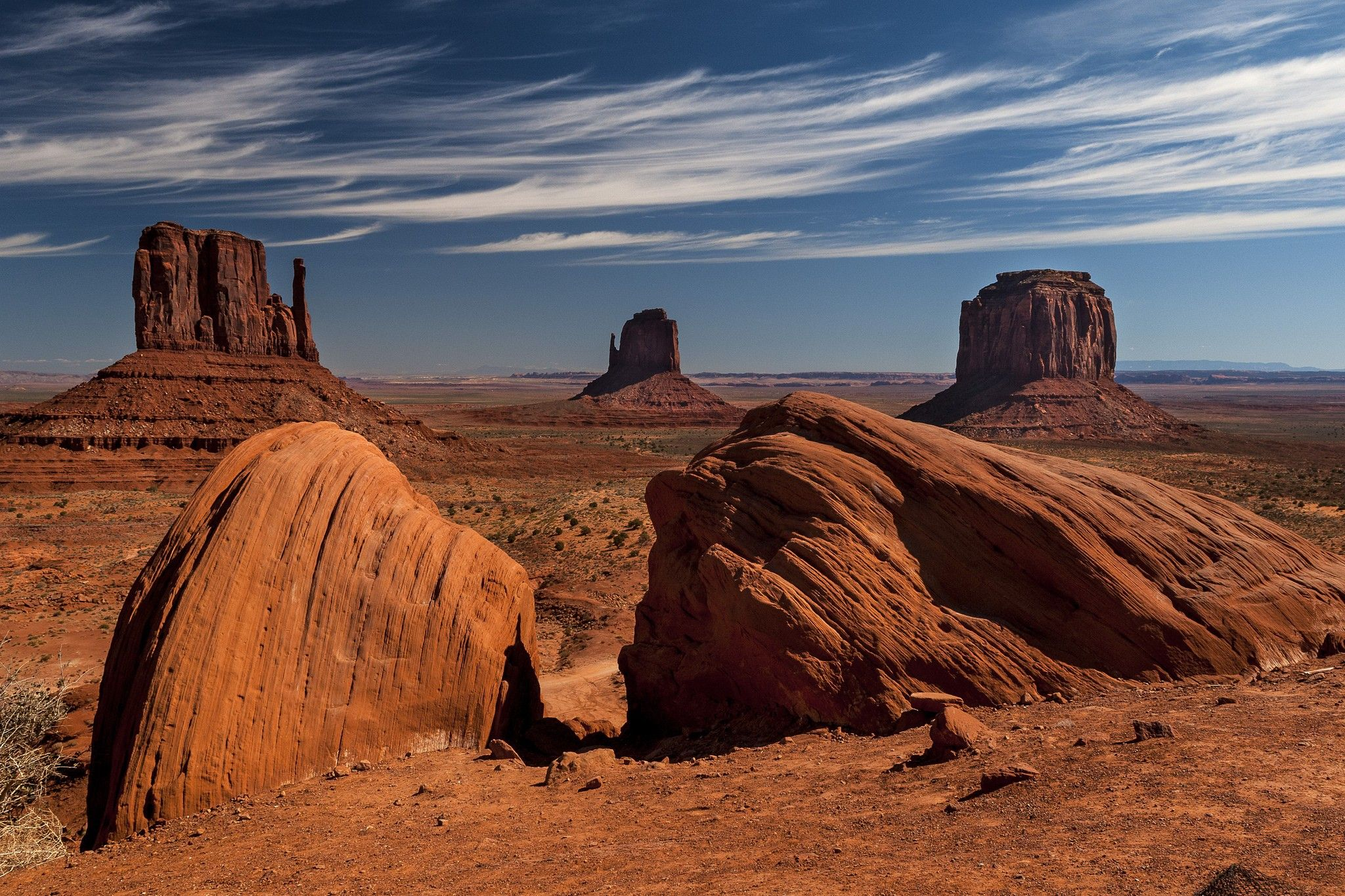 Other Monument Valley Widescreen Rocks Phil Brown Wallpaper