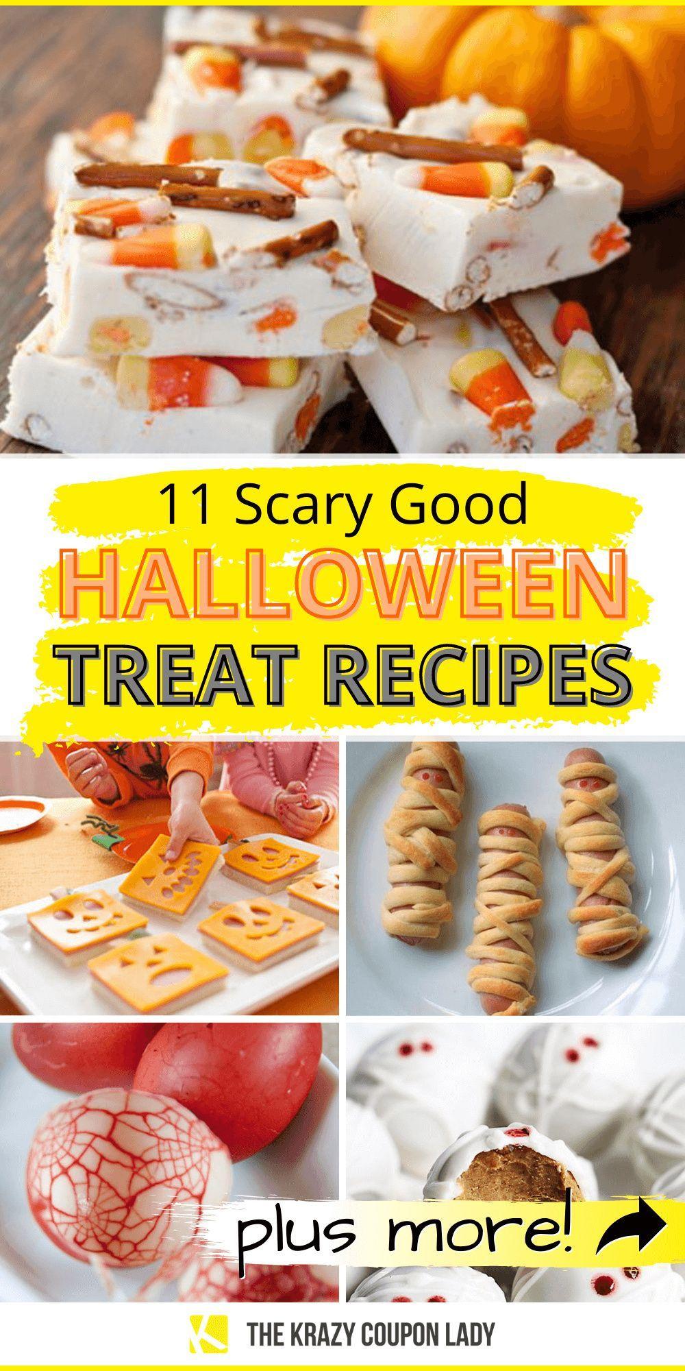 11 Scary Good Halloween Treats in 2020 Halloween food