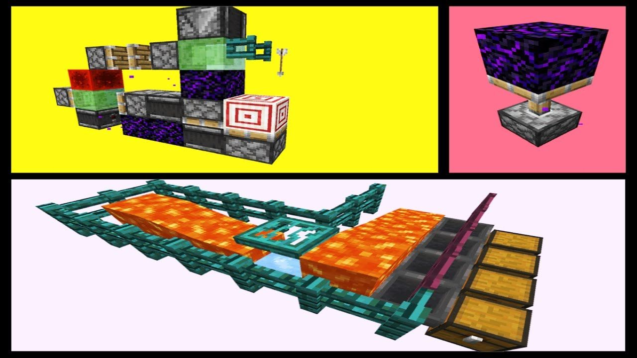 10 NEW Tricks in 1.16 Nether Update snapshot! (20w09a) in