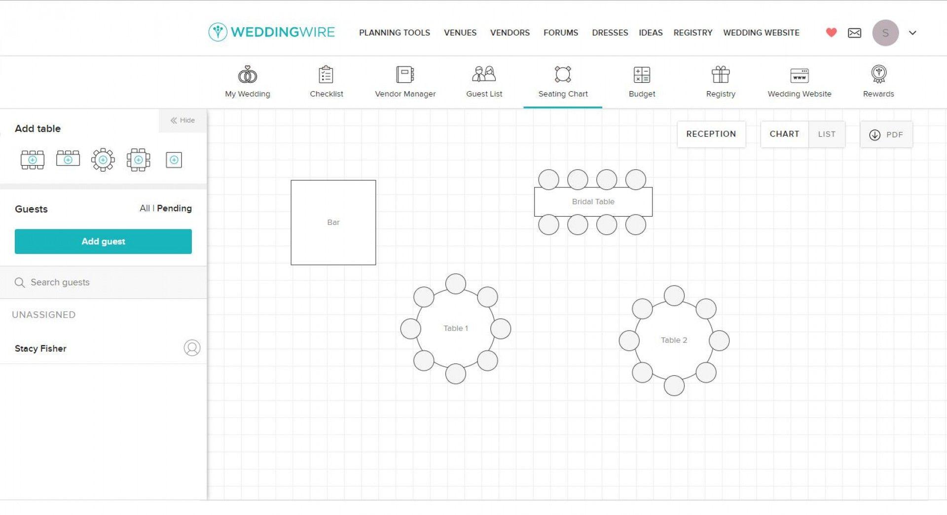 016 Wedding Seating Chart Template Idea Guest Plan Excel Within Weddin Seating Chart Wedding Template Wedding Table Seating Chart Wedding Seating Plan Template Wedding seating chart template excel