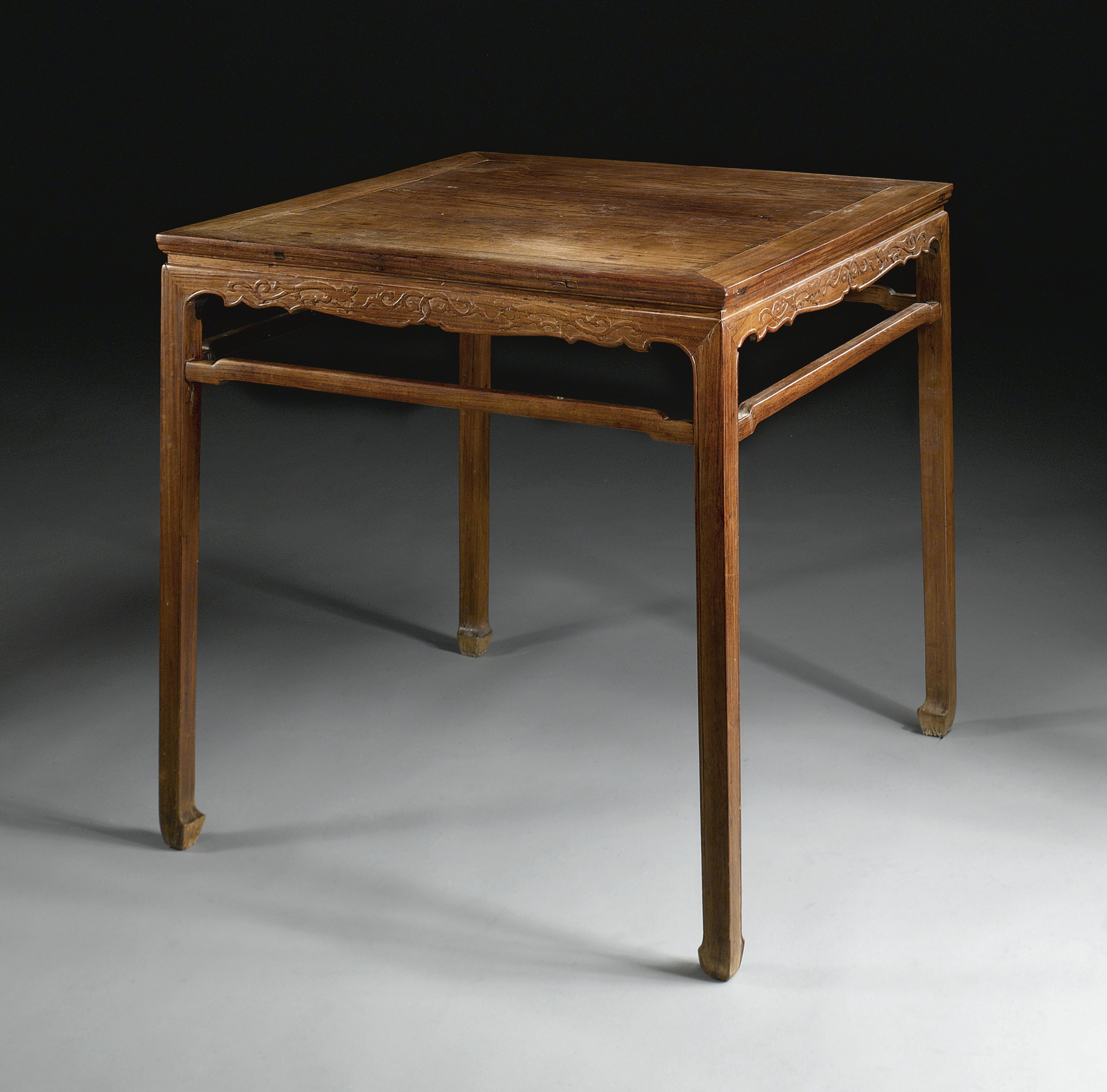 Furniture In China: A HUANGHUALI SQUARE TABLE (FANGZHUO) LATE MING / EARLY