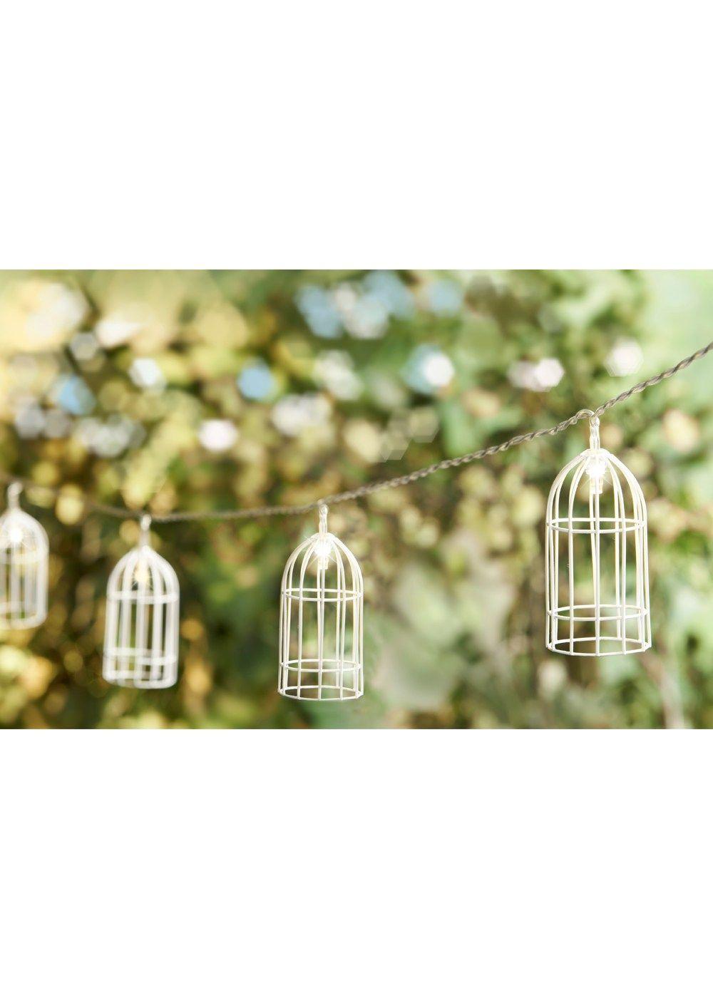 Outdoor Birdcage Solar Lights Matalan Garden