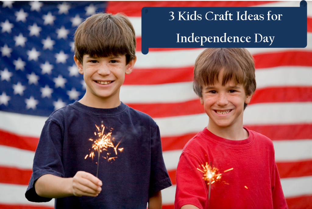 3 Kids Craft Ideas for Independence Day - popculturez.com | popculturez.com #Independenceday #July4th #Fourthofjuly