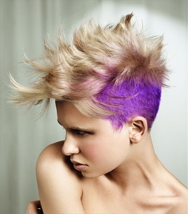 Awesome 1000 Images About Mohawks On Pinterest Mohawk Hairstyles Short Hairstyles For Black Women Fulllsitofus