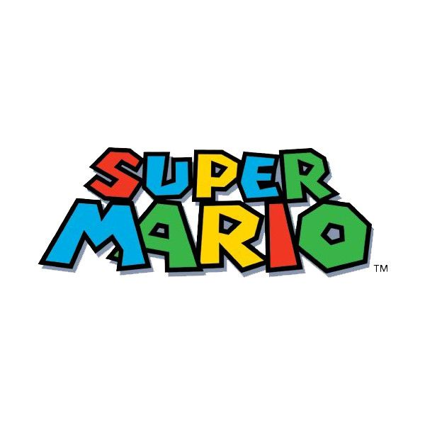 Mario Title Png Liked On Polyvore Featuring Text Games Backgrounds Logo Super Mario Ph Super Mario Birthday Party Super Mario Birthday Super Mario World