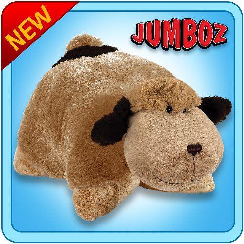 "Pillow Pets Authentic 30"" Snuggly Puppy, Folding Plush Pillow Pet- Jumbo Pillow Pets http://www.amazon.com/dp/B007WU970A/ref=cm_sw_r_pi_dp_-Ktswb0D1YYEX"