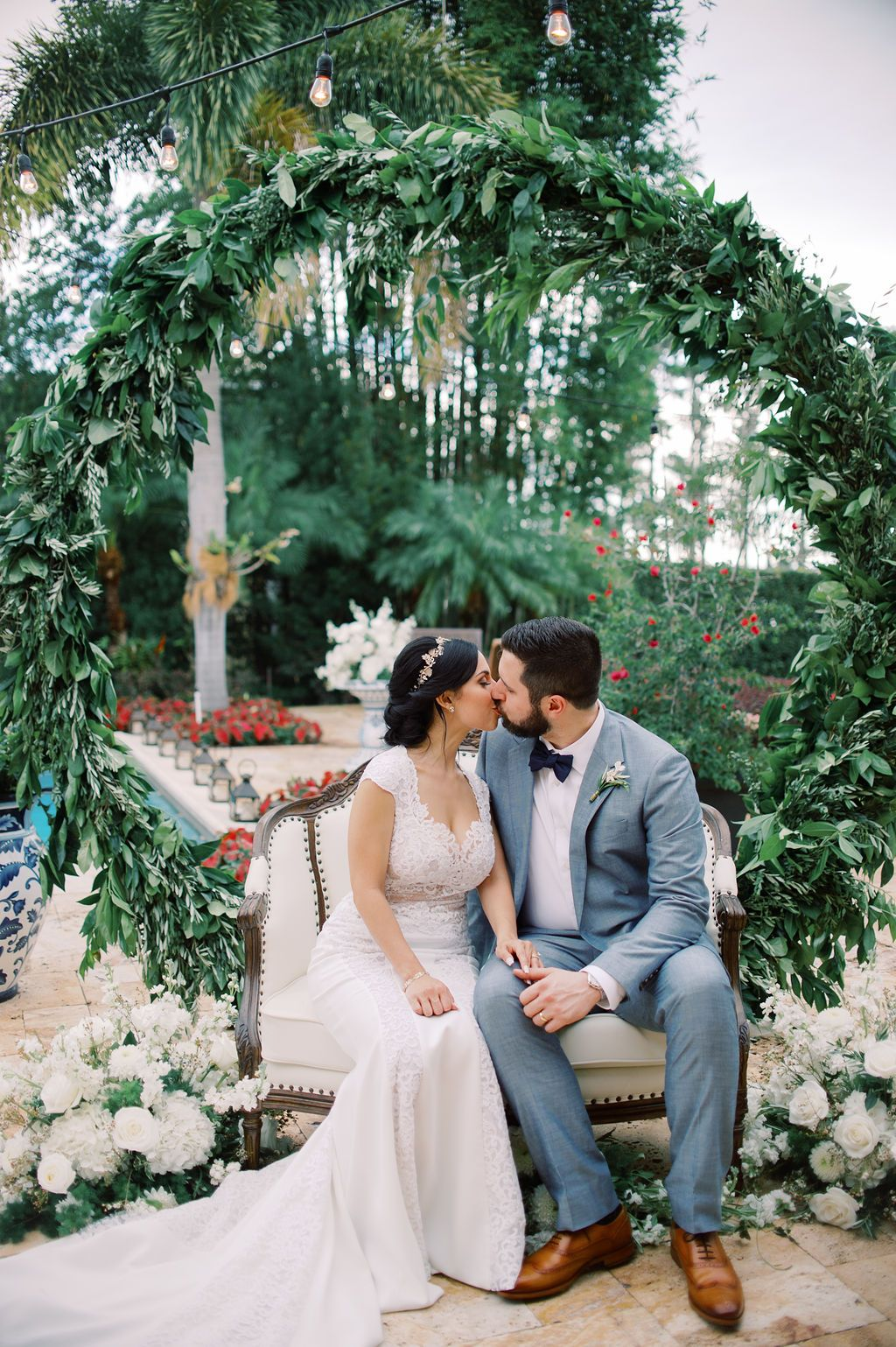 Spanish Inspired Wedding Between Two Law Graduates Ruffled In 2020 Elegant Backyard Wedding Wedding Ceremony Traditions Wedding Inspiration