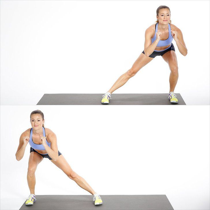 Lower Body: Side Lunge
