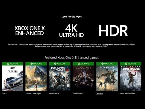 List Of Xbox One X Enhanced Games Keeps Growing Over 150 Titles